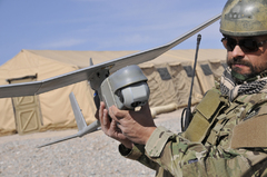 AeroVironment Unveils Modular Gimbaled Sensor Payload on RQ-11B Raven Small Unmanned Aircraft System